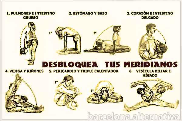 DESBLOQUEO DE LOS PRINCIPALES MERIDIANOS