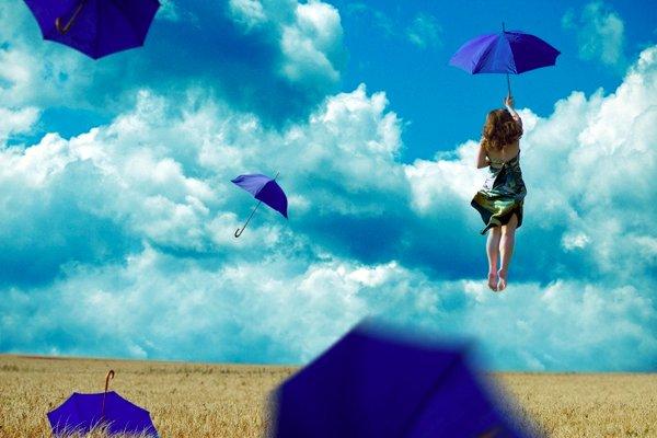 jugar con las nubes