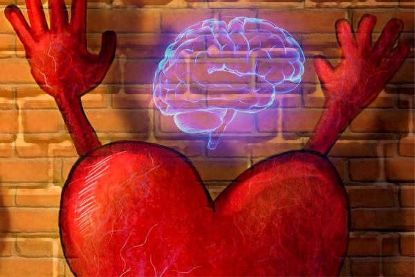 ¿piensas con la cabeza o con el corazón?