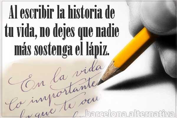 Reescribir la historia de tu vida