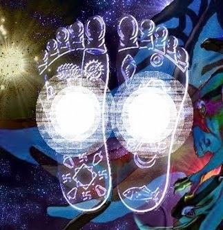 chakras de los pies